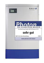 Powador 60.0 TL3 - Photon: sehr gut